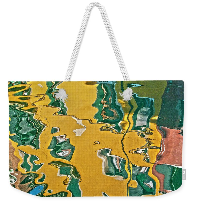 Water Weekender Tote Bag featuring the photograph Venice Upside Down 1 by Heiko Koehrer-Wagner