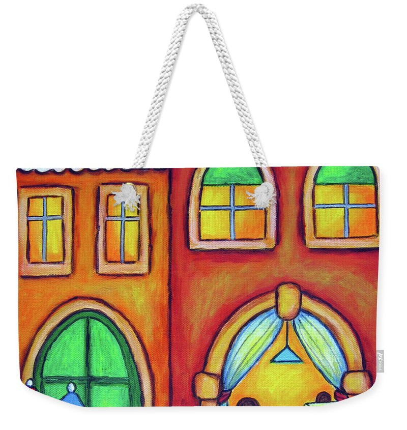 Venice Weekender Tote Bag featuring the painting Venice Valentine II by Lisa Lorenz