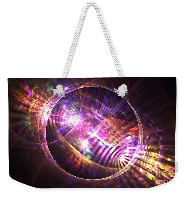 Apophysis Weekender Tote Bag featuring the digital art Venus Celestial by Kim Sy Ok