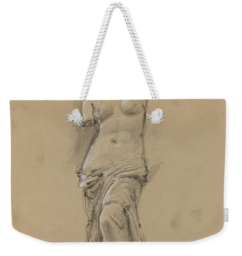 Louvre Weekender Tote Bags