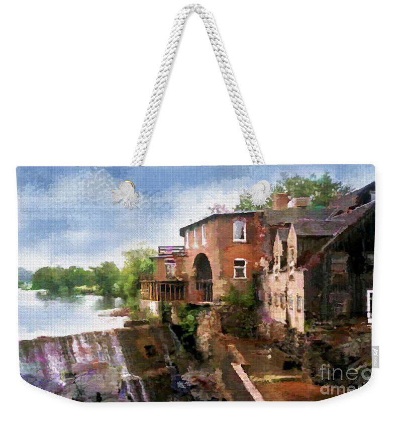 Vermont Weekender Tote Bag featuring the photograph Vermont Splendor by Betty LaRue