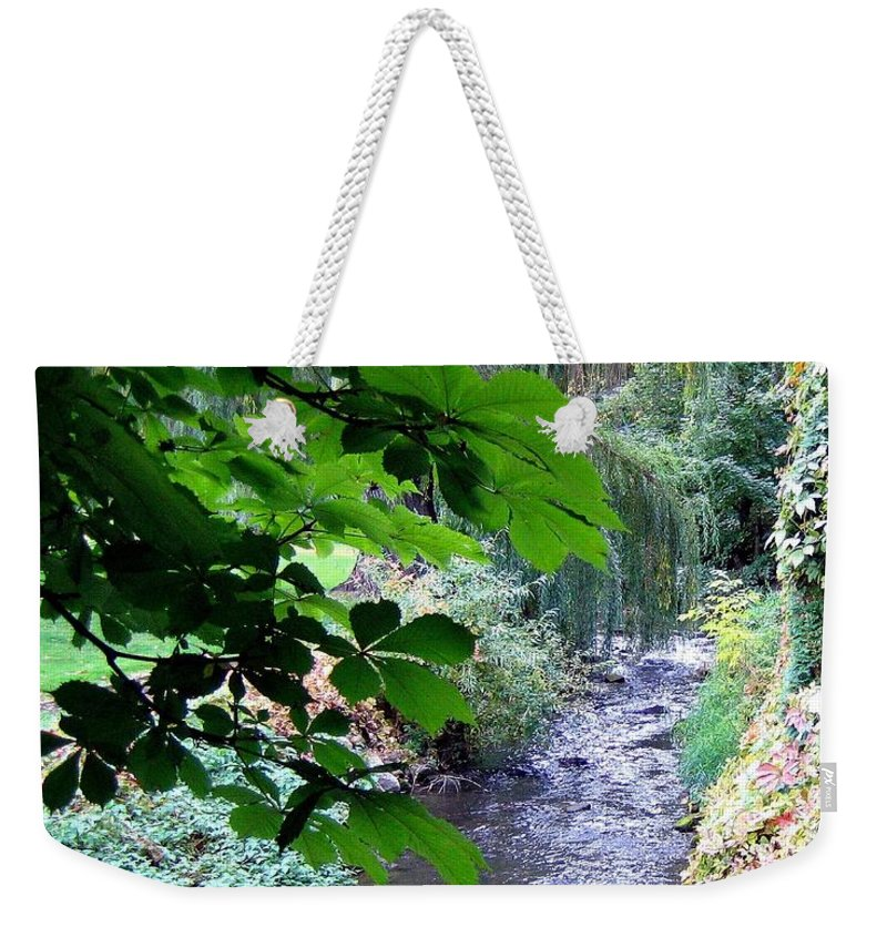 Vernon Creek Weekender Tote Bag featuring the photograph Vernon Creek by Will Borden