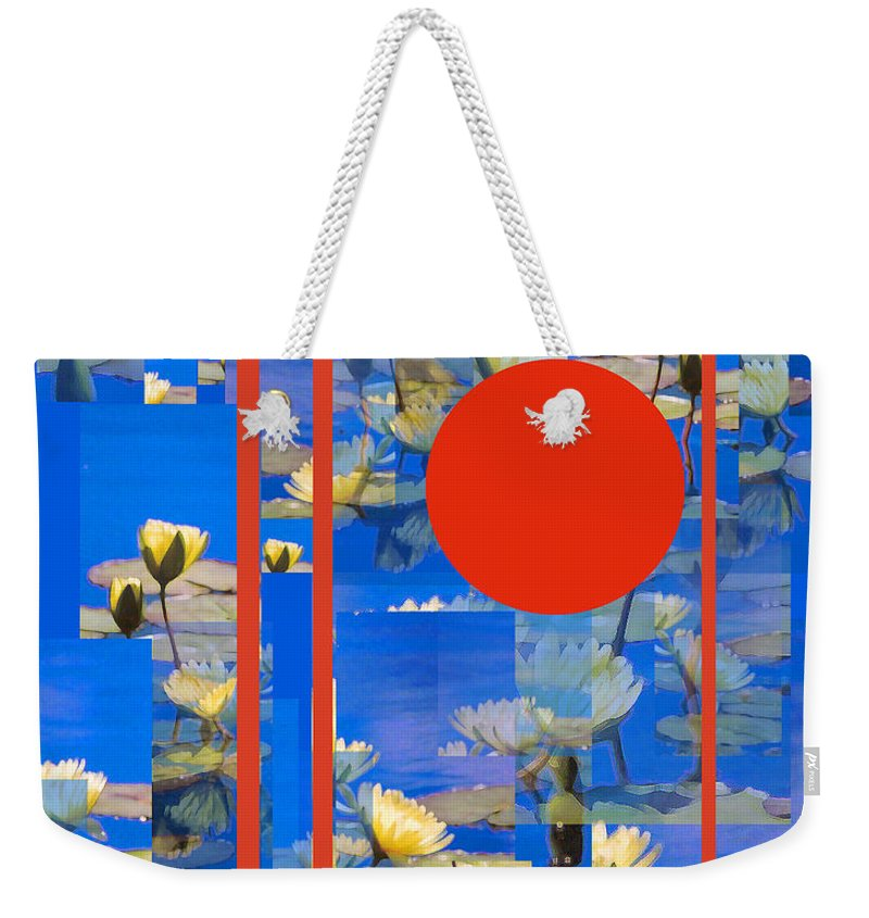 Flowers Weekender Tote Bag featuring the photograph Vertical Horizon by Steve Karol