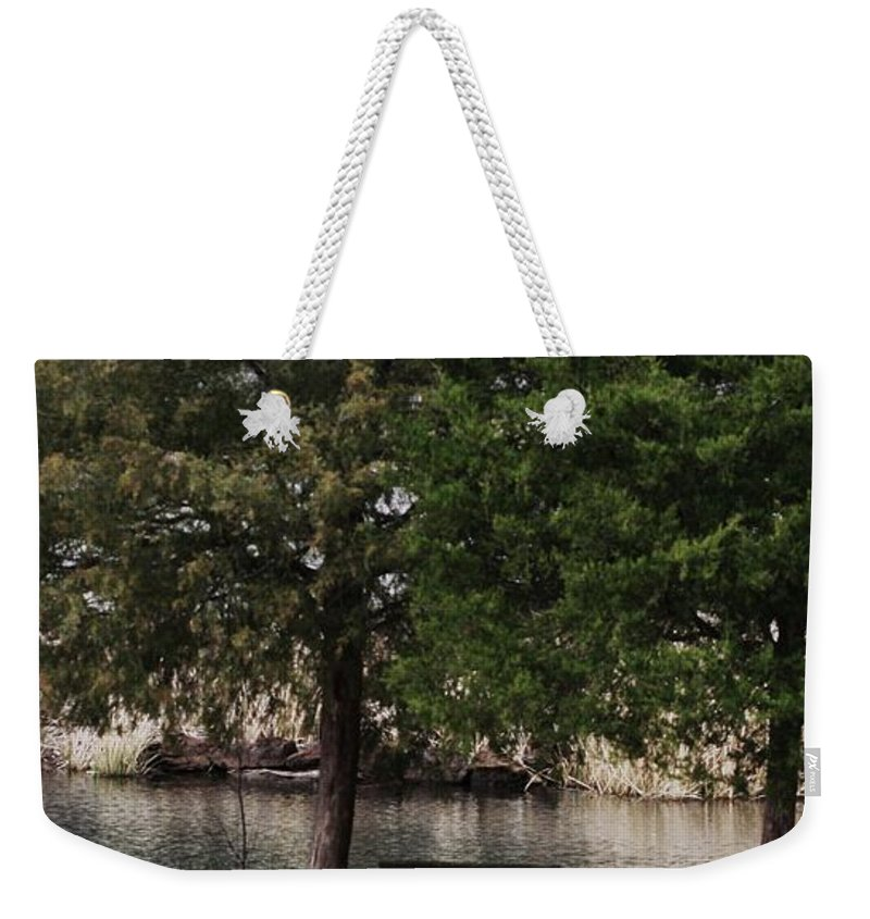 Nature Photographs Weekender Tote Bag featuring the photograph Very Inviting by Kim Henderson