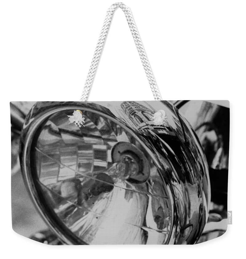 Vespa Weekender Tote Bag featuring the photograph Vespa by Jeffery Ball