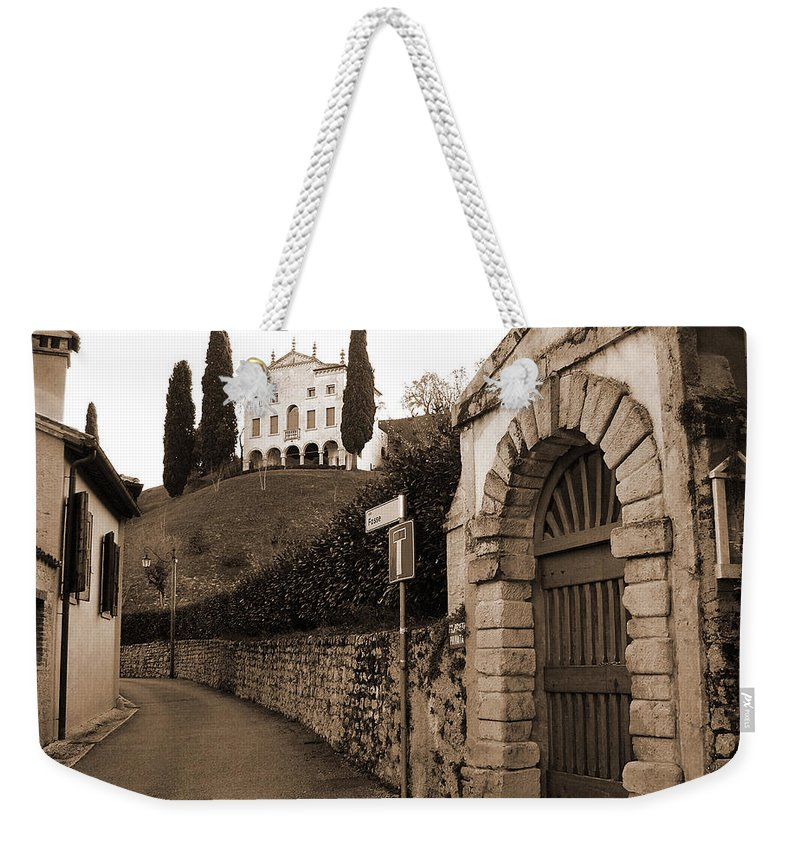 Via Fosse Weekender Tote Bag featuring the photograph Via Fosse by Donna Corless