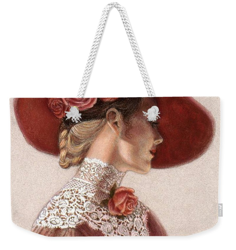 Laces Weekender Tote Bags