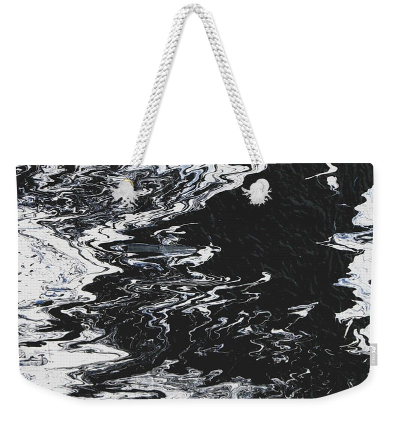 Fusionart Weekender Tote Bag featuring the painting Victory by Ralph White