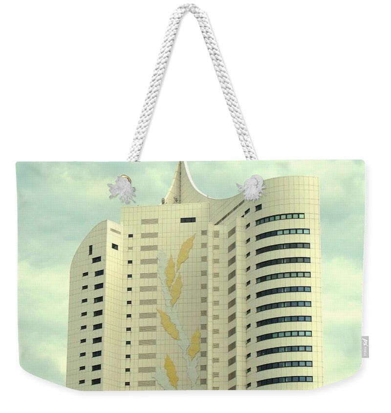 Vienna Weekender Tote Bag featuring the photograph Vienna Architecture by Ian MacDonald