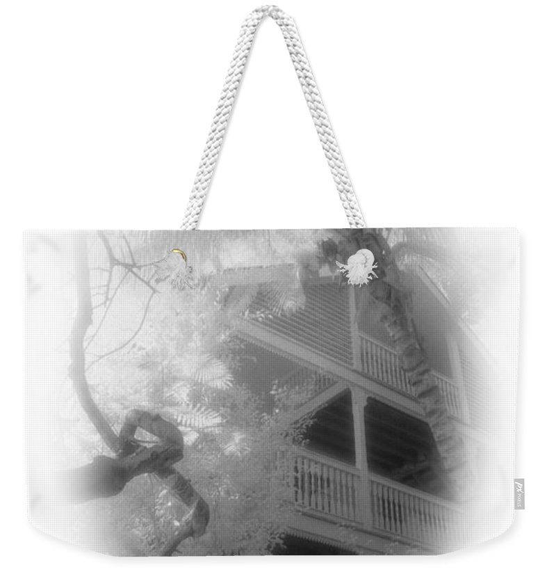 Balcony Weekender Tote Bag featuring the photograph View Of The Balcony by Richard Rizzo