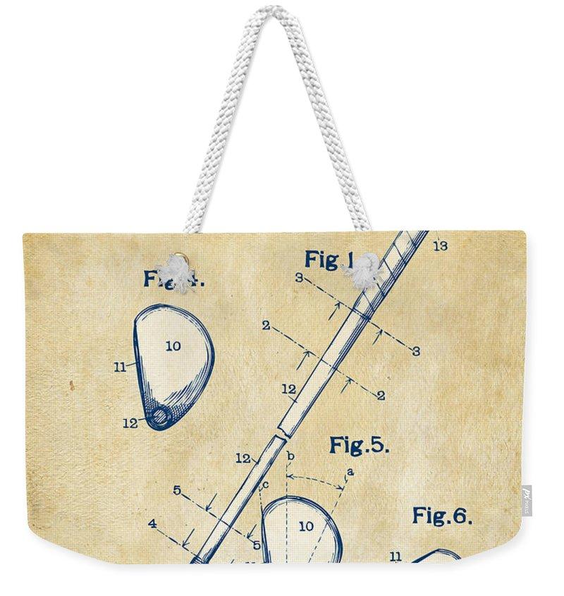 Golf Swing Weekender Tote Bags