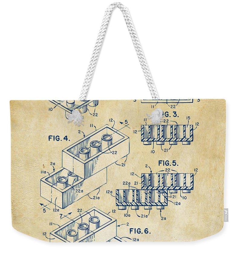 Office Buildings Drawings Weekender Tote Bags