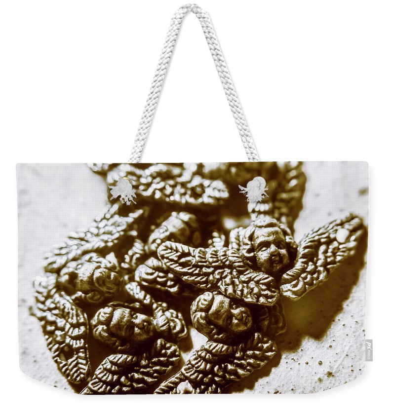Heaven Weekender Tote Bag featuring the photograph Vintage Angels Artwork by Jorgo Photography - Wall Art Gallery