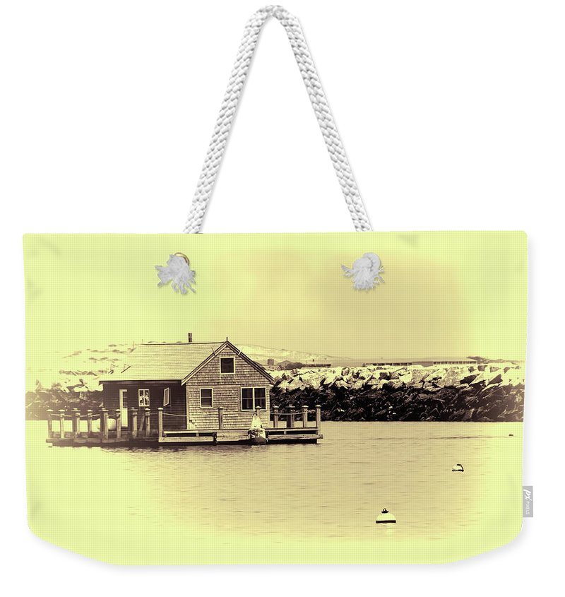 Cape Cod Weekender Tote Bag featuring the photograph Vintage Cape Cod by Eleanor Bortnick
