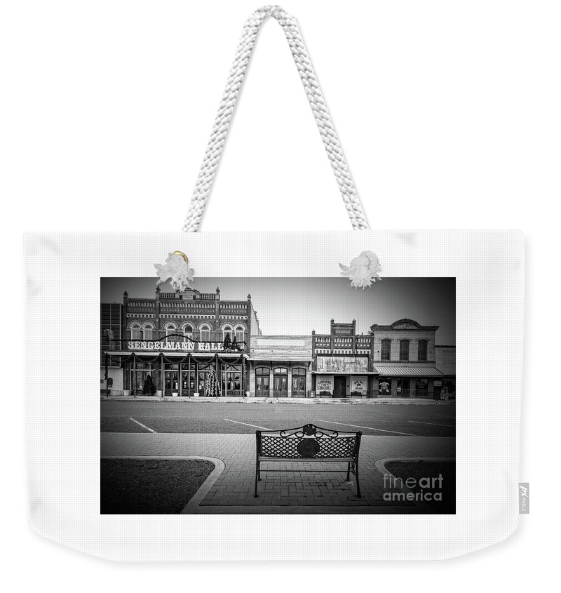 Vintage Street View Weekender Tote Bag featuring the photograph Vintage Street View by Imagery by Charly