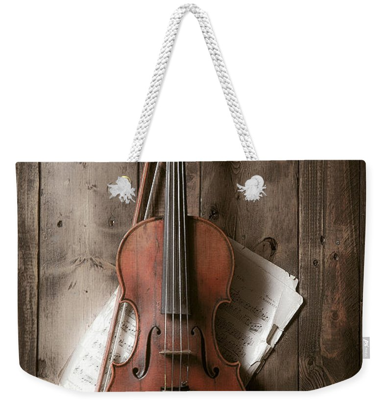 Country Music Photographs Weekender Tote Bags