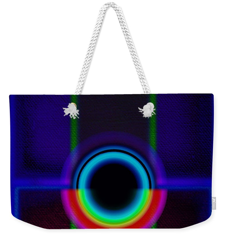 Portal Weekender Tote Bag featuring the painting Vista by Charles Stuart
