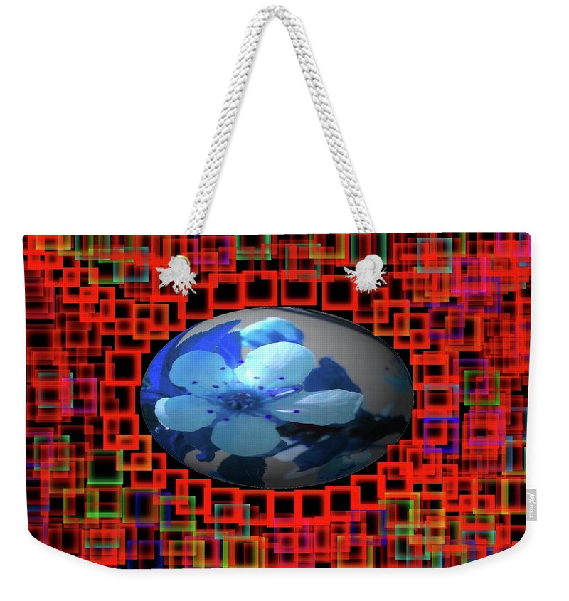 Floral Weekender Tote Bag featuring the photograph Viva La Spring by Jeff Swan