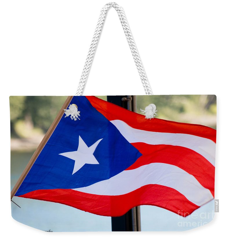 Puerto Rico Weekender Tote Bag featuring the photograph Viva Puerto Rico by Julio Velez