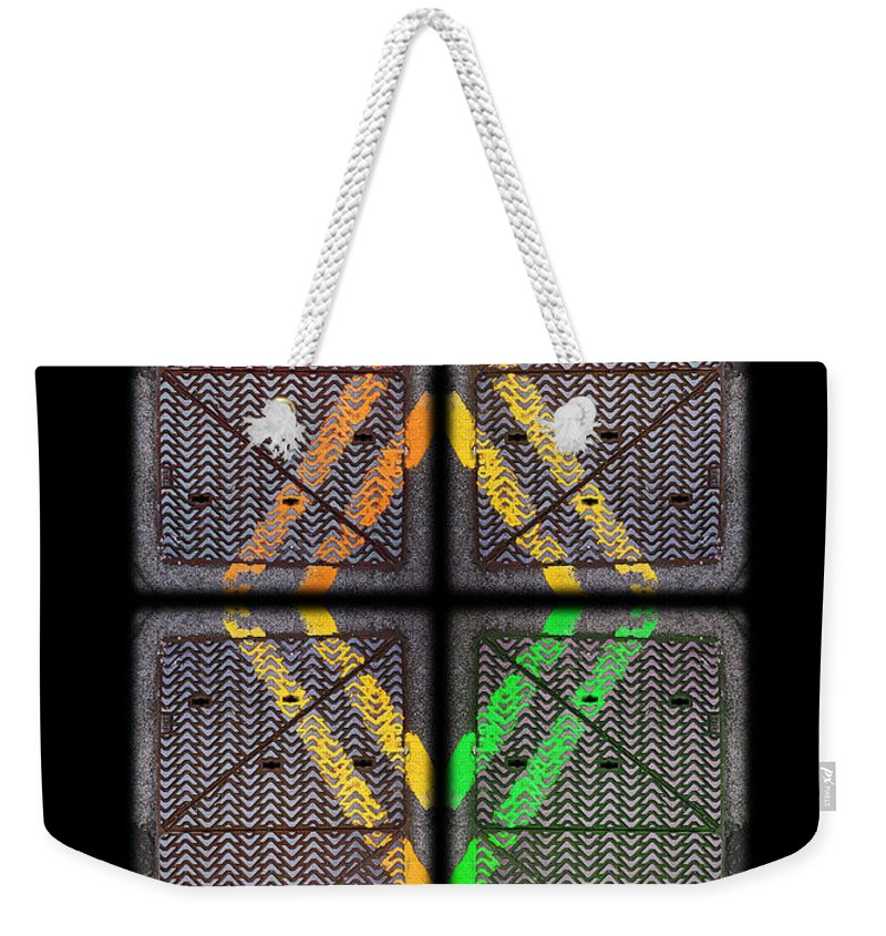 Urban Weekender Tote Bag featuring the photograph Voices For Green by Charles Stuart