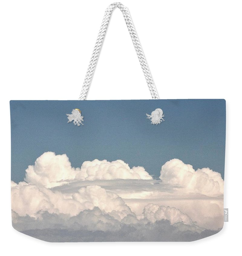 Stormy Sky Weekender Tote Bag featuring the photograph Voluminous Clouds by Rose Webber Hawke
