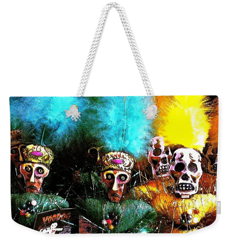 Voodoo Weekender Tote Bag featuring the photograph Voodoo For You by Nelson Strong