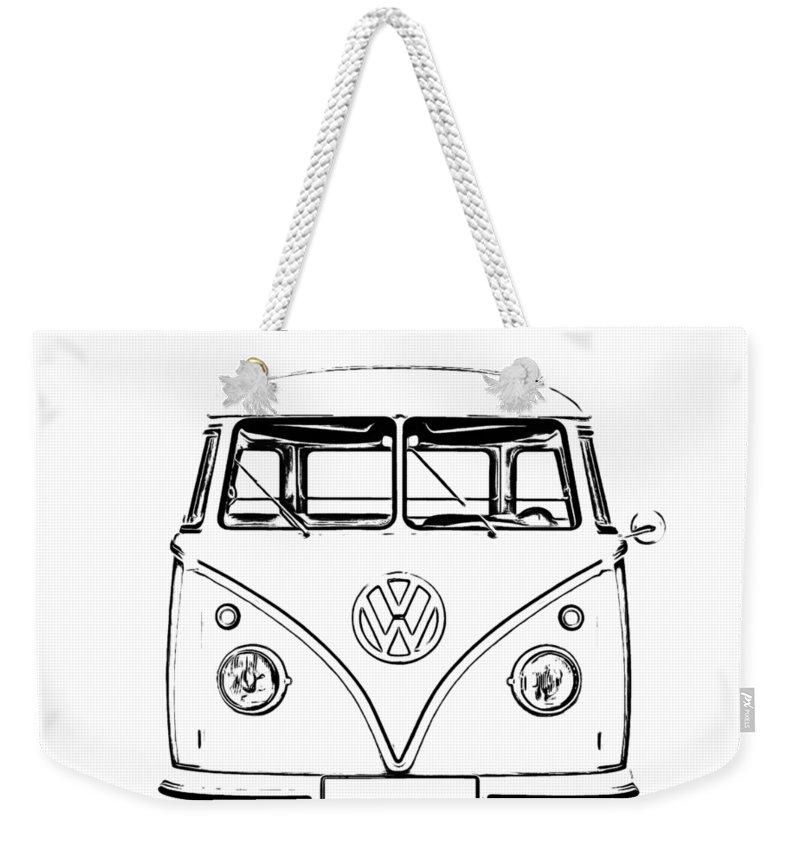 Vw Bus Photographs Weekender Tote Bags