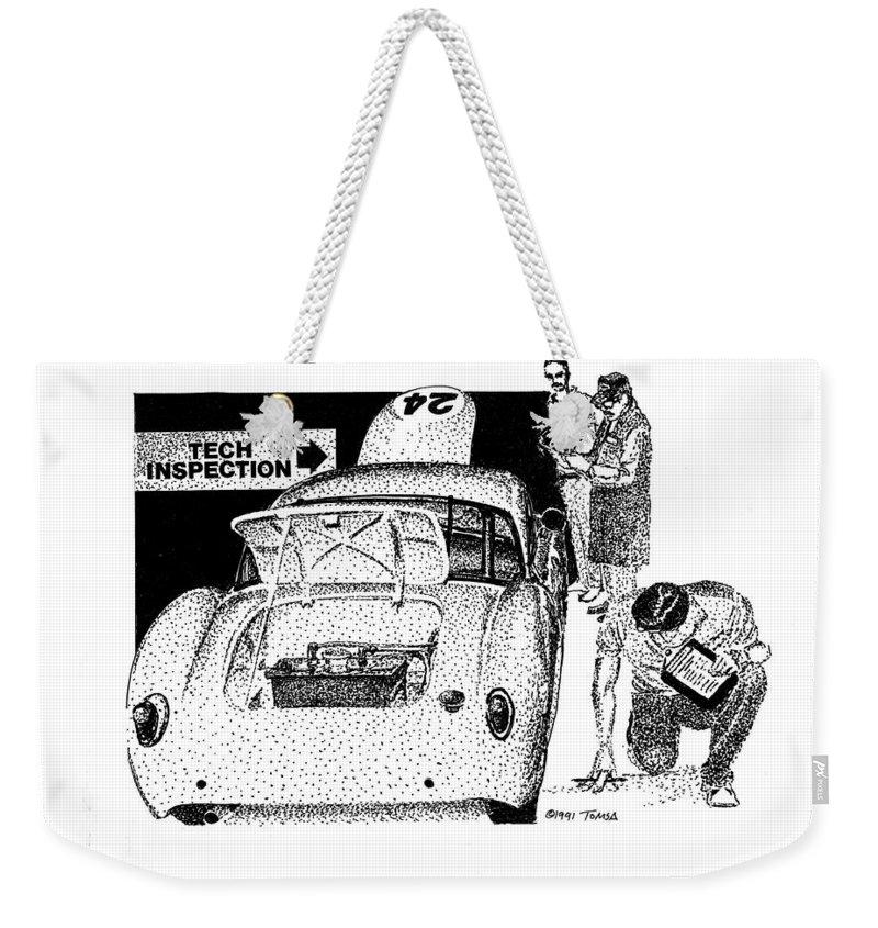 Results Drawings Weekender Tote Bags