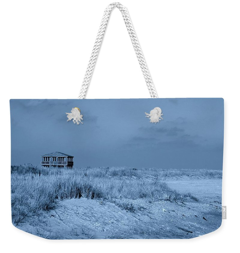 Jersey Shore Weekender Tote Bag featuring the photograph Waiting For Summer - Jersey Shore by Angie Tirado