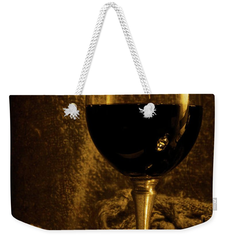Festblues Weekender Tote Bag featuring the photograph Waiting For Summer... by Nina Stavlund