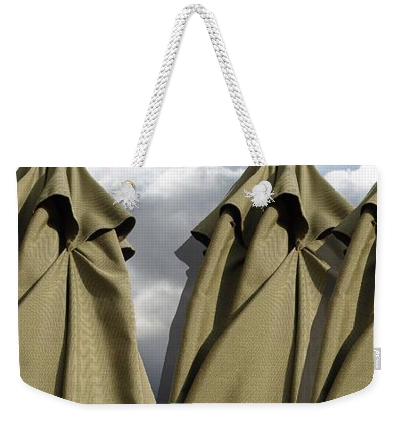 Digital Image Weekender Tote Bag featuring the digital art Waiting For The Storm by Ron Bissett