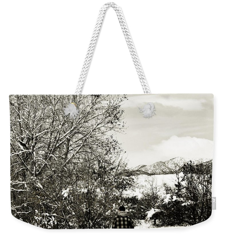 Colorado Weekender Tote Bag featuring the photograph Walk In The Park by Marilyn Hunt