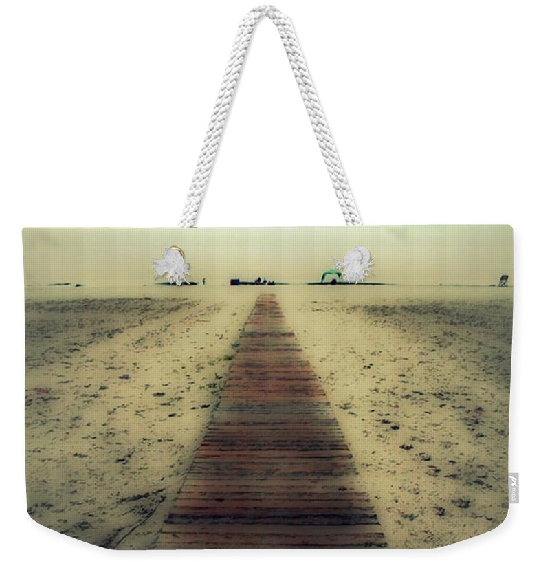 Nature Weekender Tote Bag featuring the photograph Walk With Me by Linda Sannuti