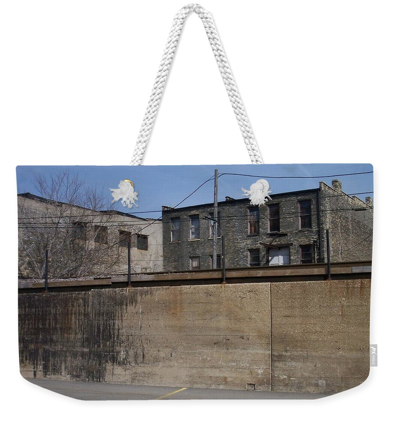 Walker's Point Weekender Tote Bag featuring the photograph Walker's Point 1 by Anita Burgermeister