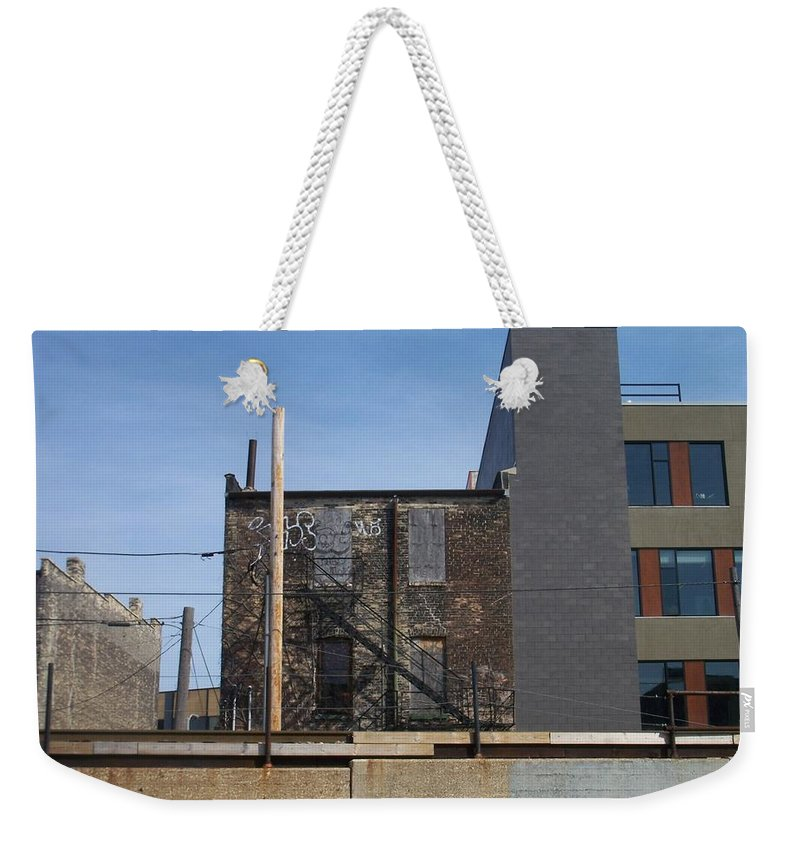 Walker's Point Weekender Tote Bag featuring the photograph Walker's Point 2 by Anita Burgermeister