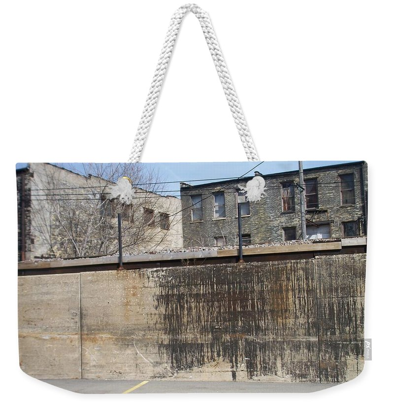 Walker's Point Weekender Tote Bag featuring the photograph Walker's Point 3 by Anita Burgermeister