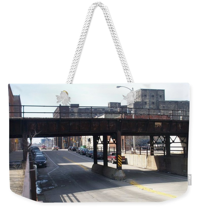 Walker's Point Weekender Tote Bag featuring the photograph Walker's Point 4 by Anita Burgermeister