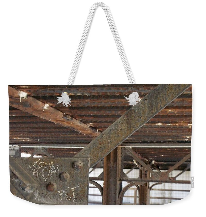 Walker's Point Weekender Tote Bag featuring the photograph Walker's Point 6 by Anita Burgermeister