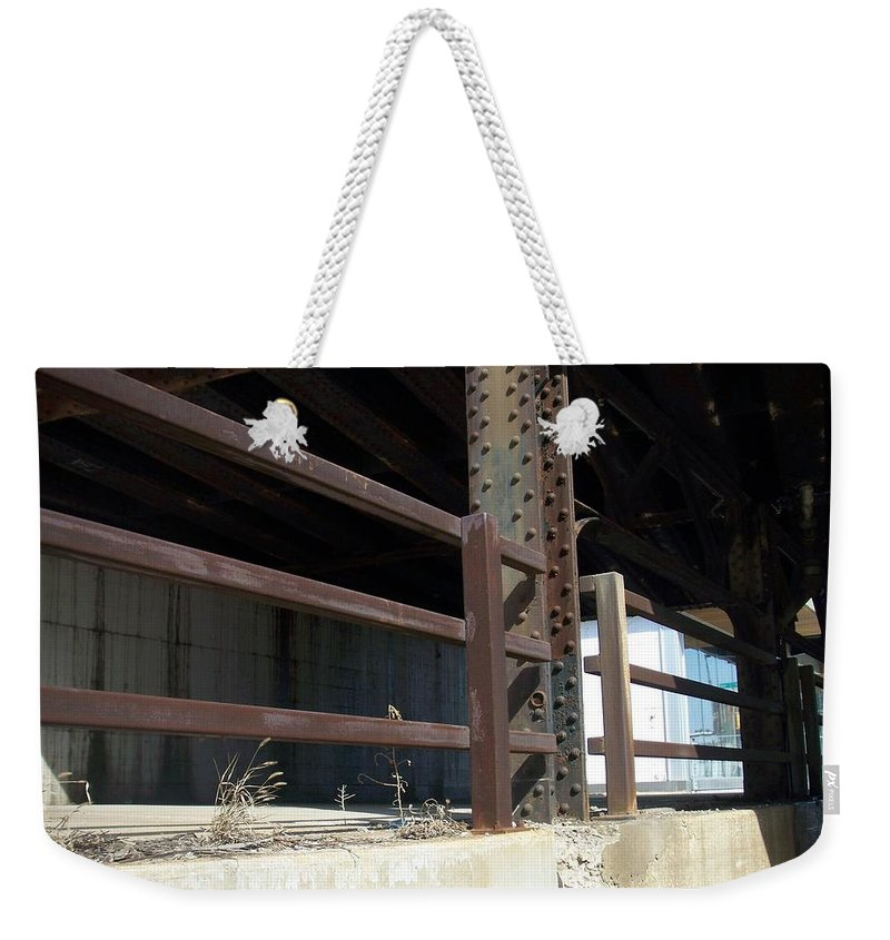 Walker's Point Weekender Tote Bag featuring the photograph Walker's Point 8 by Anita Burgermeister