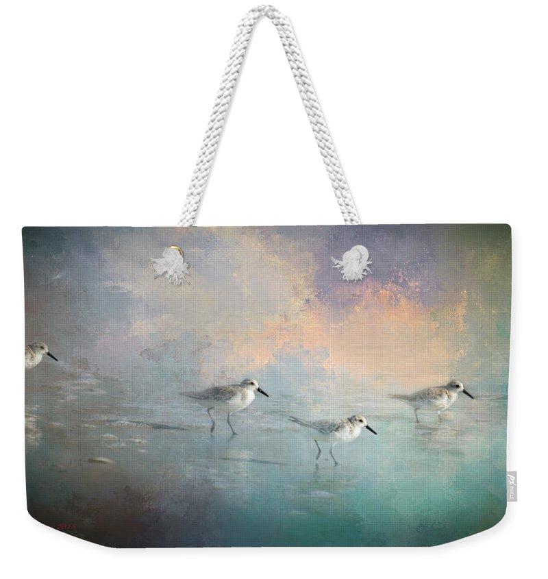 Avian Digital Art Weekender Tote Bags