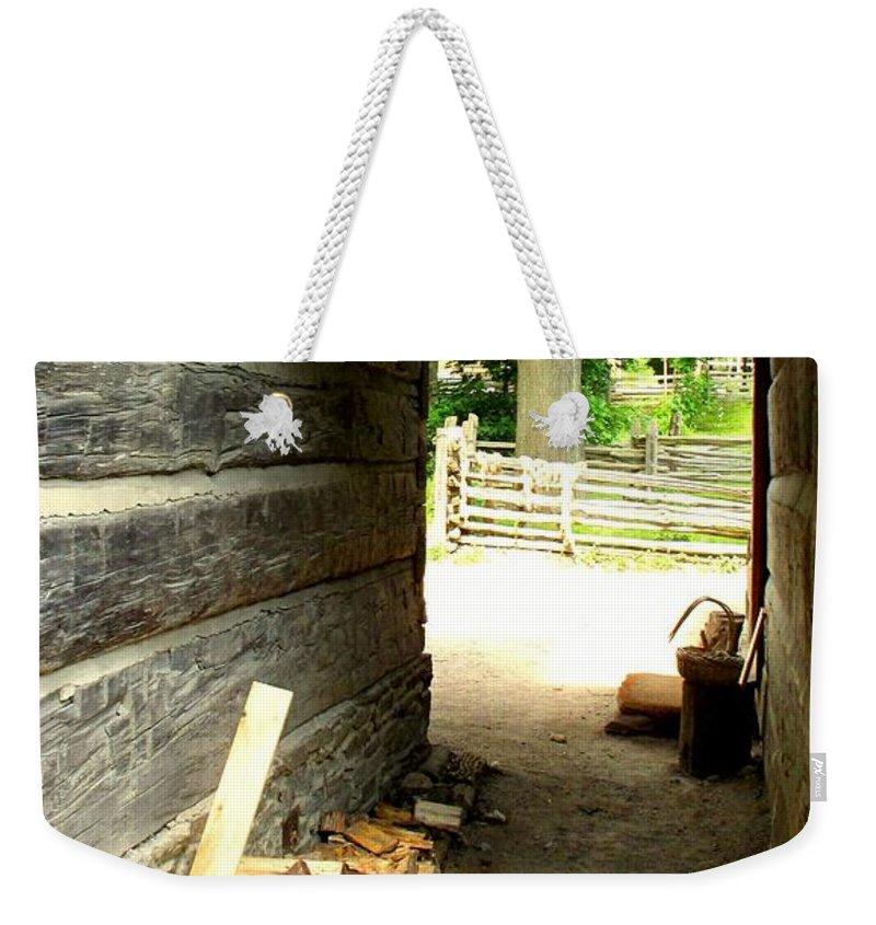 Pioneer Weekender Tote Bag featuring the photograph Walkway by Ian MacDonald