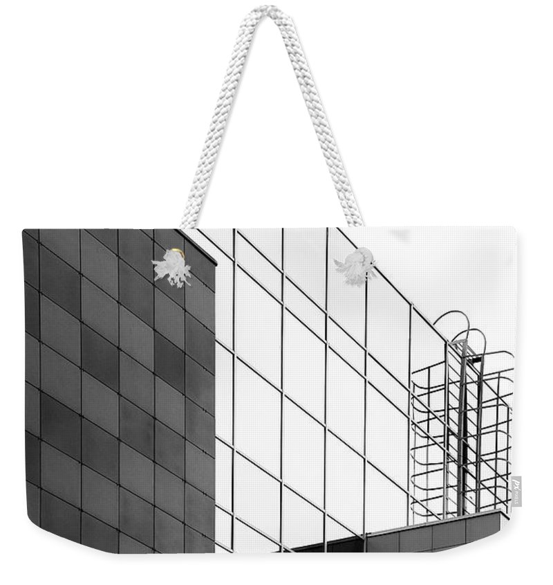Architecture Weekender Tote Bag featuring the photograph Wall #9170 by Andrey Godyaykin