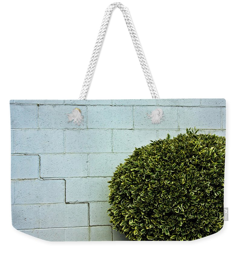 Wall Weekender Tote Bag featuring the photograph Wall Art by Hannah Breidenbach