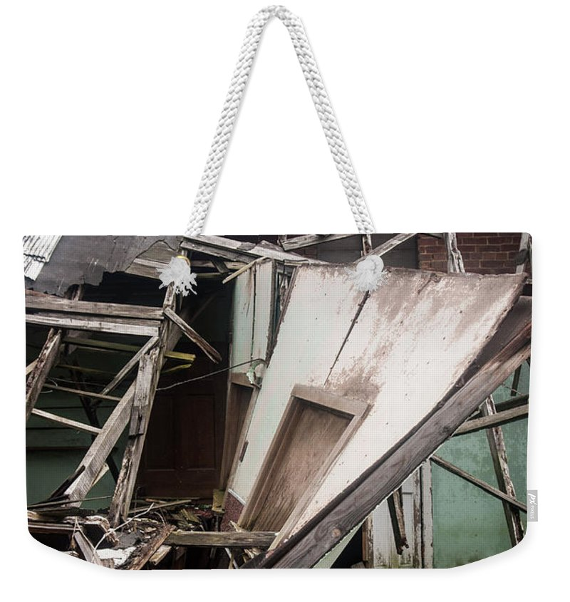 Weekender Tote Bag featuring the photograph Wall by Melissa Newcomb