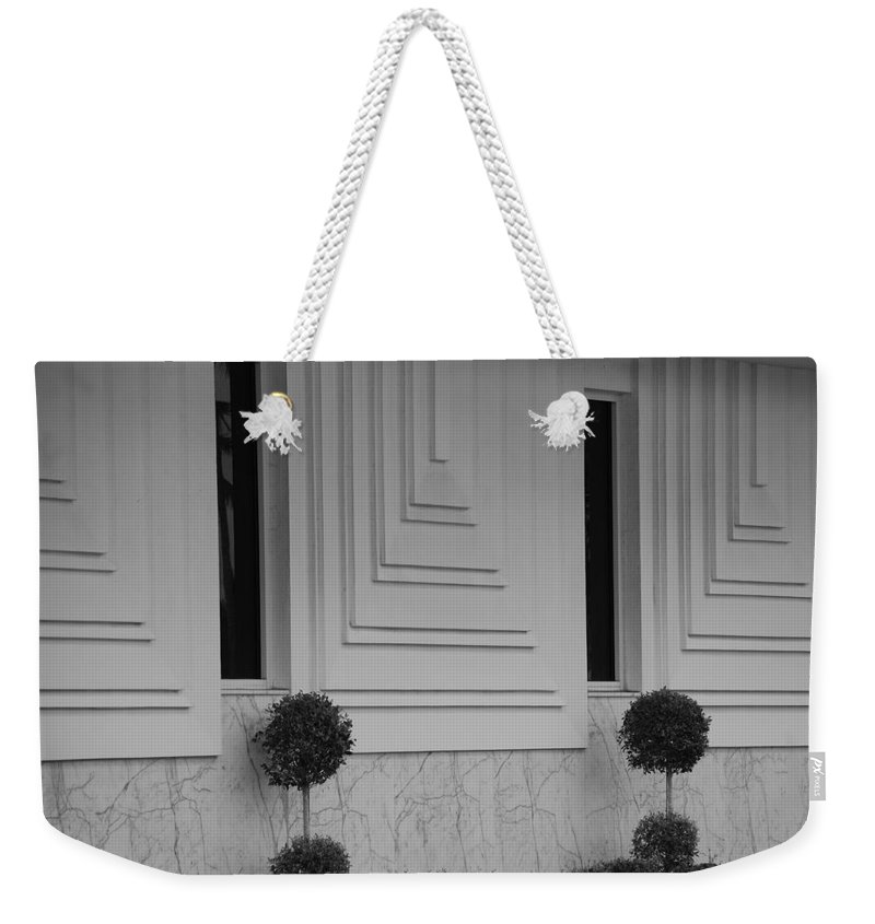 Architecture Weekender Tote Bag featuring the photograph Walls And Windows by Rob Hans