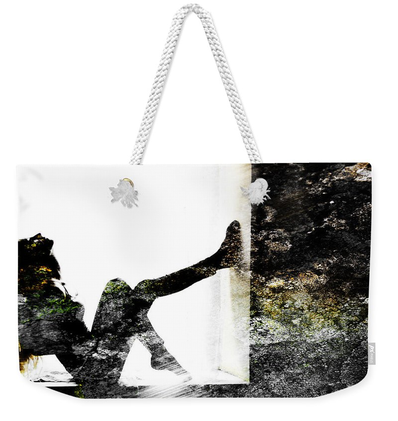 Wall Weekender Tote Bag featuring the photograph Walls Walks by Alex Art and Photo