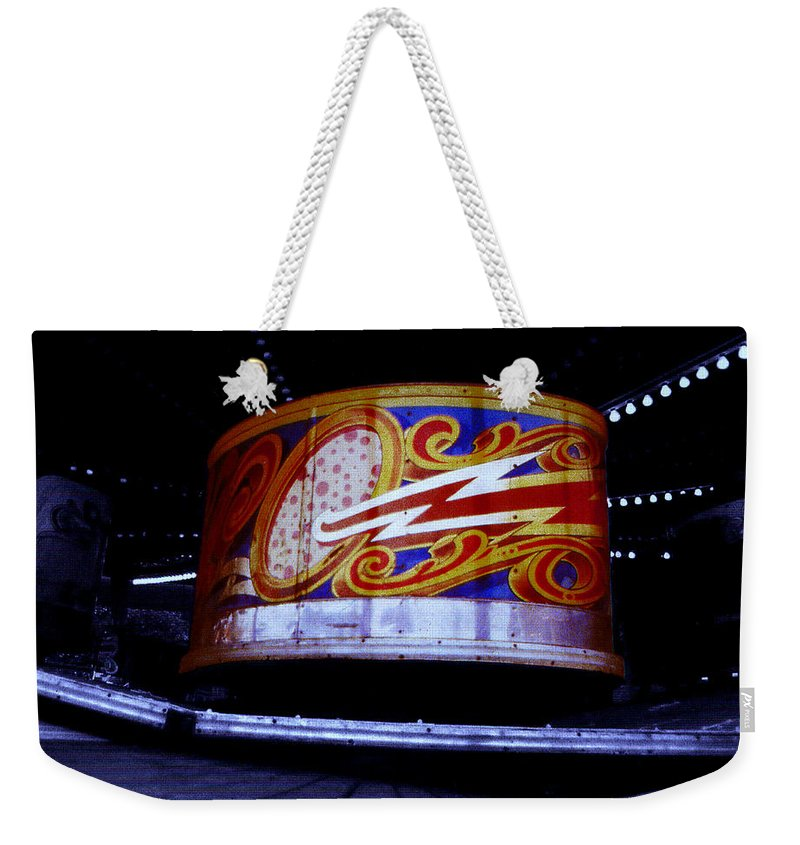 Waltzer Weekender Tote Bag featuring the photograph Waltzer by Charles Stuart