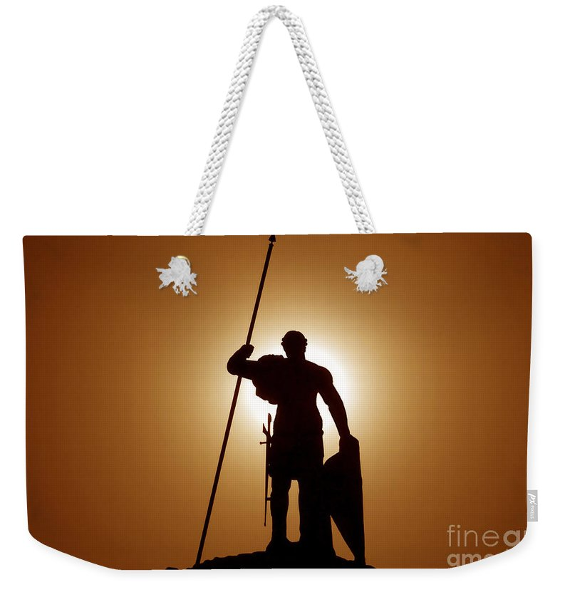 Warrior Weekender Tote Bag featuring the photograph Warrior by David Lee Thompson