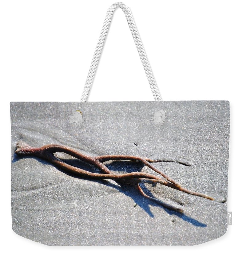 Eric Liller Weekender Tote Bag featuring the photograph Washed Up by Eric Liller