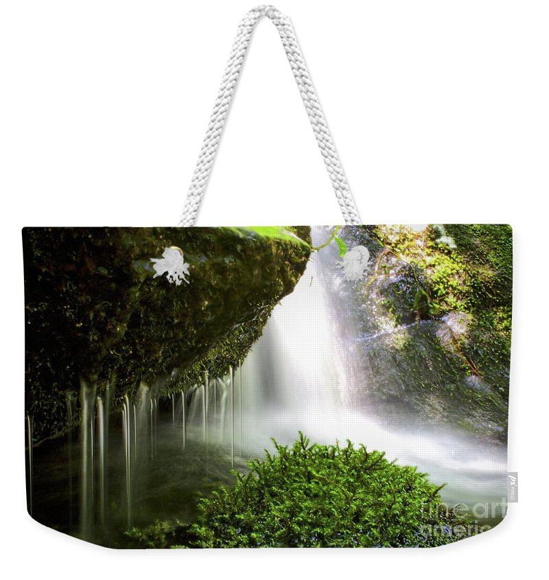 Water Weekender Tote Bag featuring the photograph Washing It Away by Ty Shults